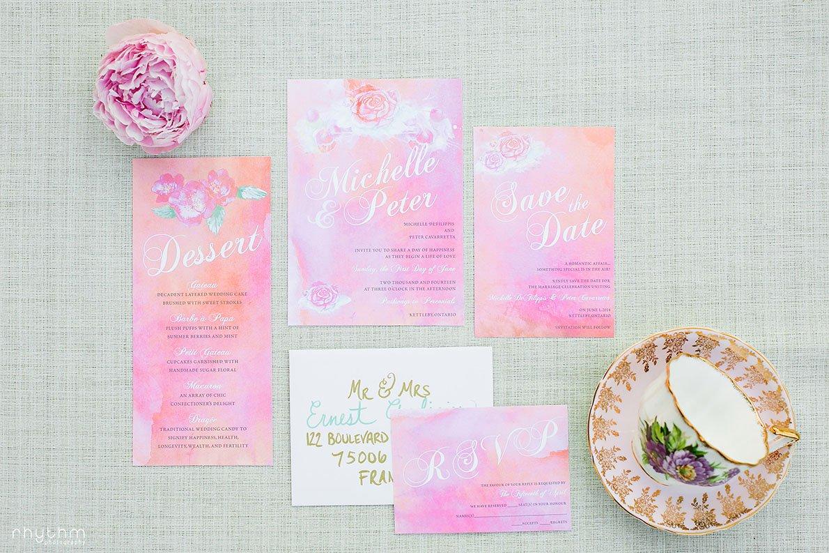 Wedding Invitations at Pathway to Perennials Photo