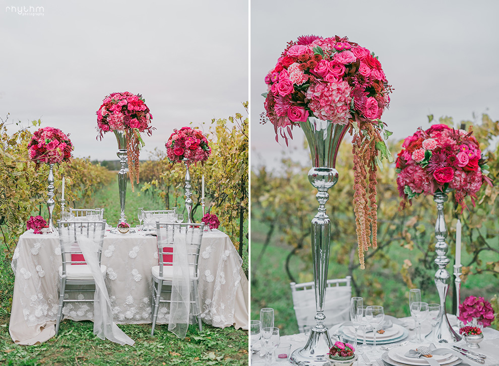 Luxurious Vineyard Wedding Willow Springs Vinery Photo