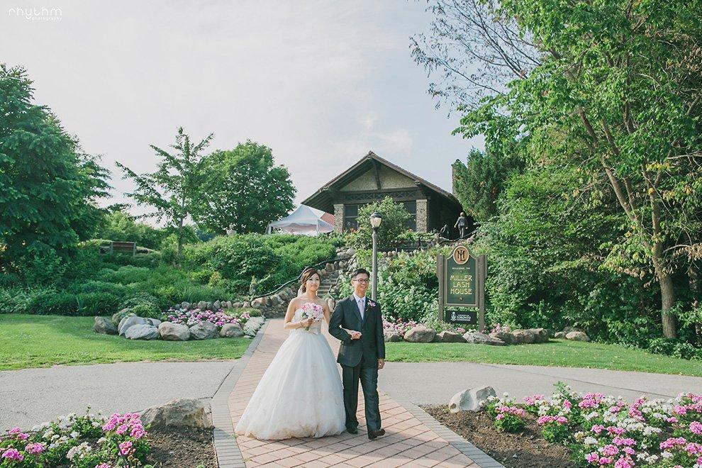 DIY Outdoor Wedding Miller Lash House Photo