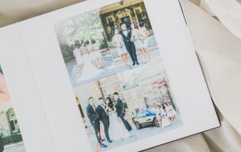 Classic_Black_Leather_Wedding_Album-Rhythm_Photography
