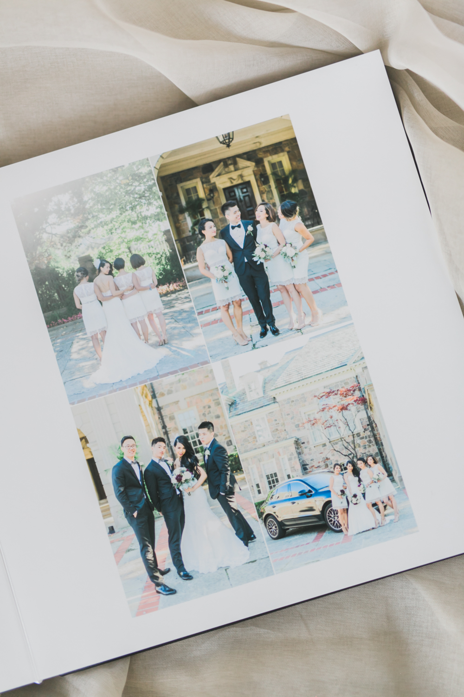 Classic_Black_Leather_Wedding_Album-Rhythm_Photography