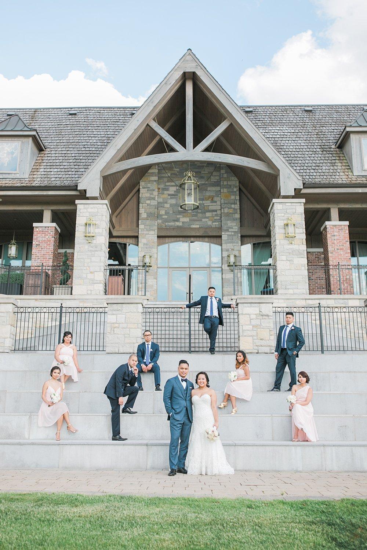 Nest Golf Course Wedding Photos