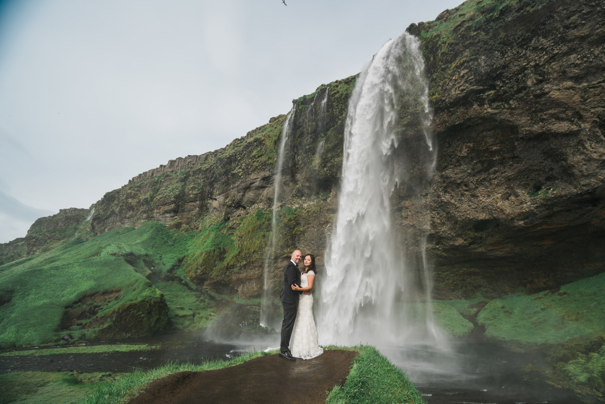 Phoebe Amp Dave Iceland Wedding Elopement Photos Skogafoss Amp Seljalandsfoss