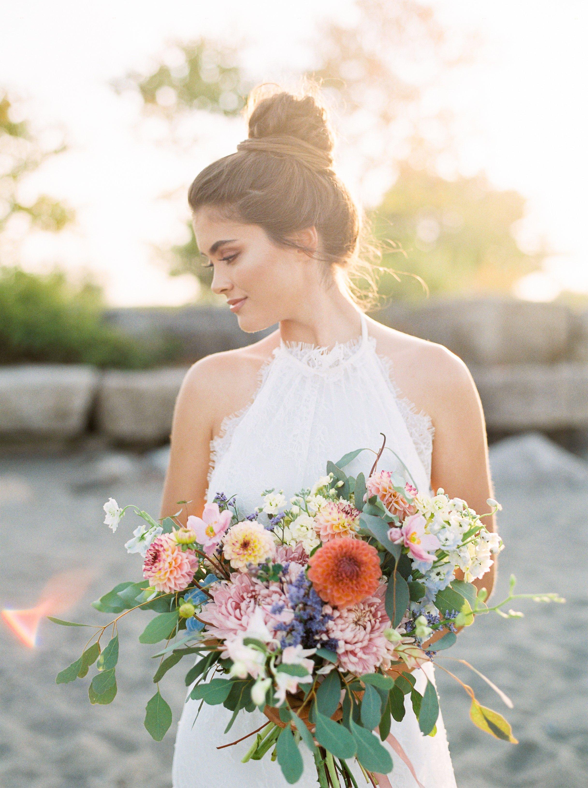 Luxury Boho Beach Wedding Inspiration - Rhythm Photography