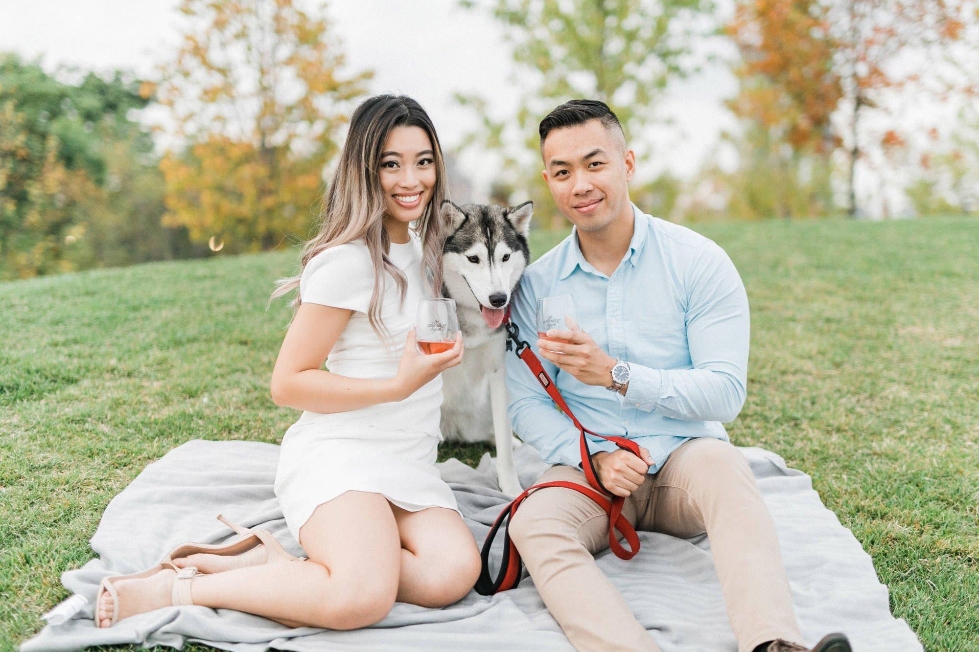 Trillium Park Toronto Engagement