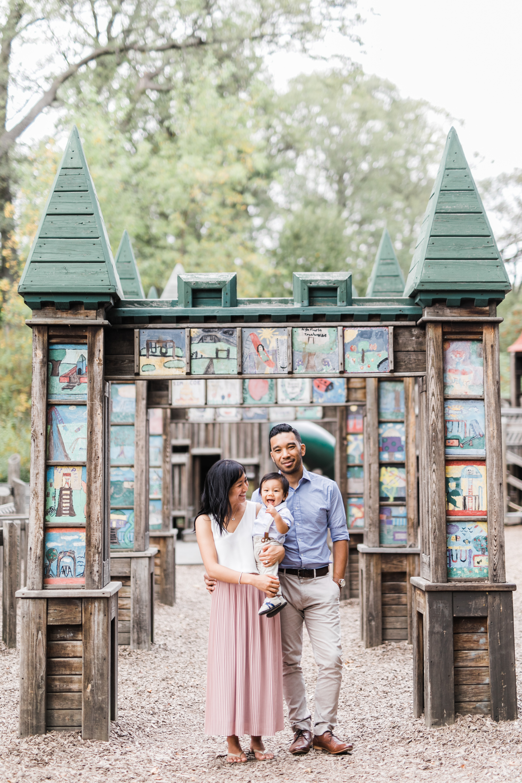 High Park Toronto Family Photos