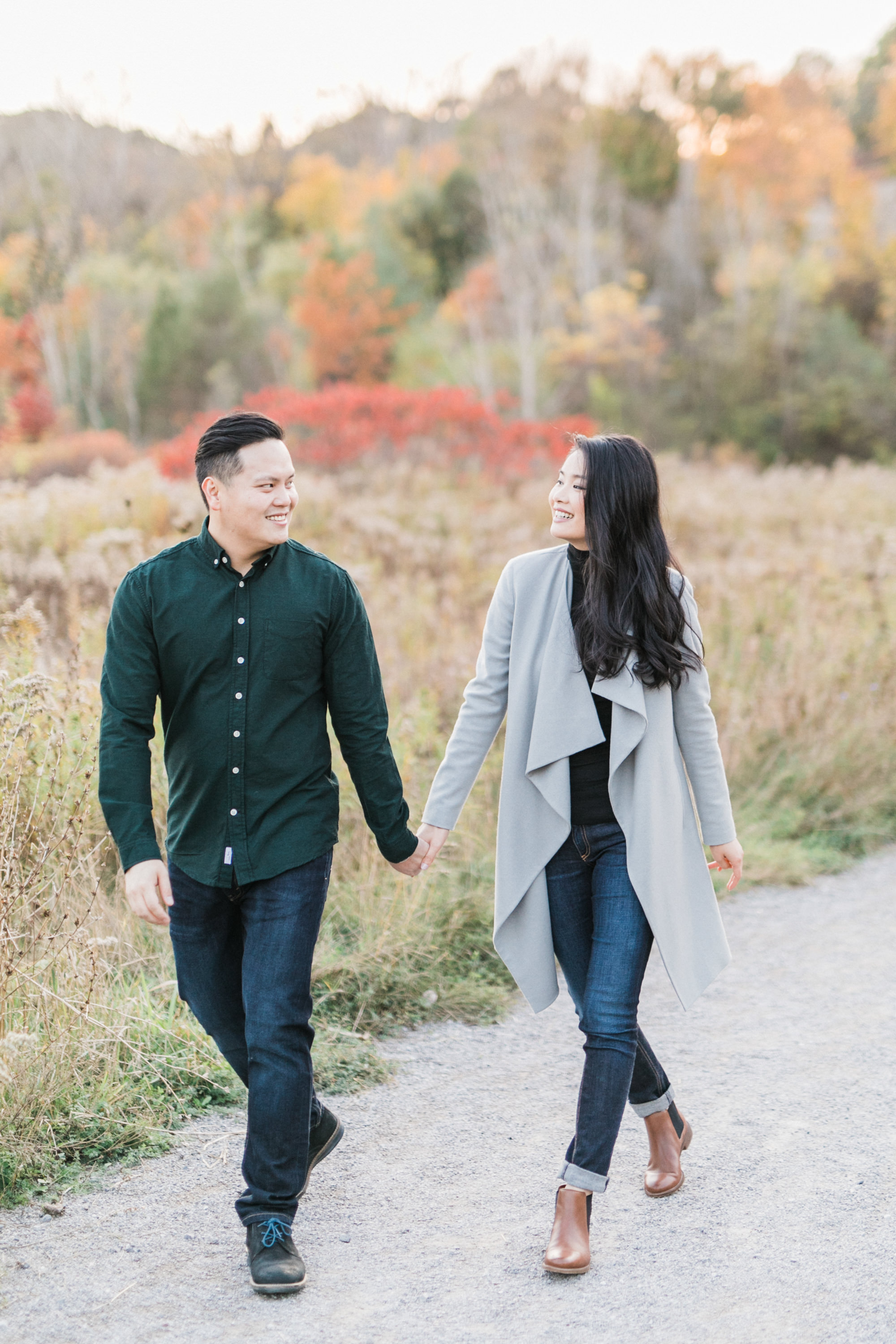 Evergreen Brickworks Fall Engagement
