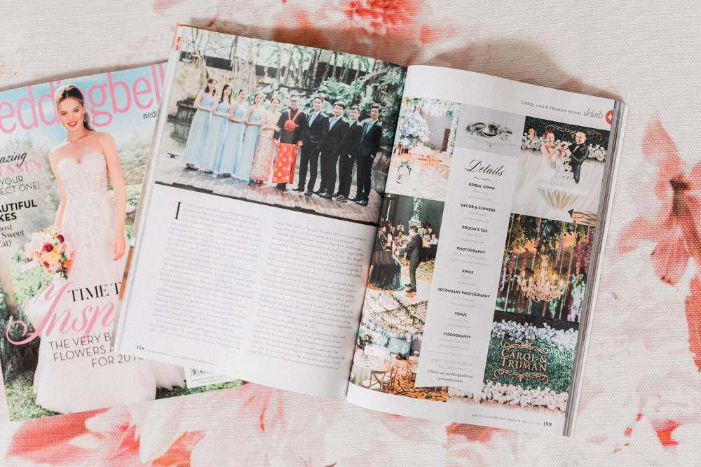 WeddingBells Magazine Featured Conrad Bali Wedding