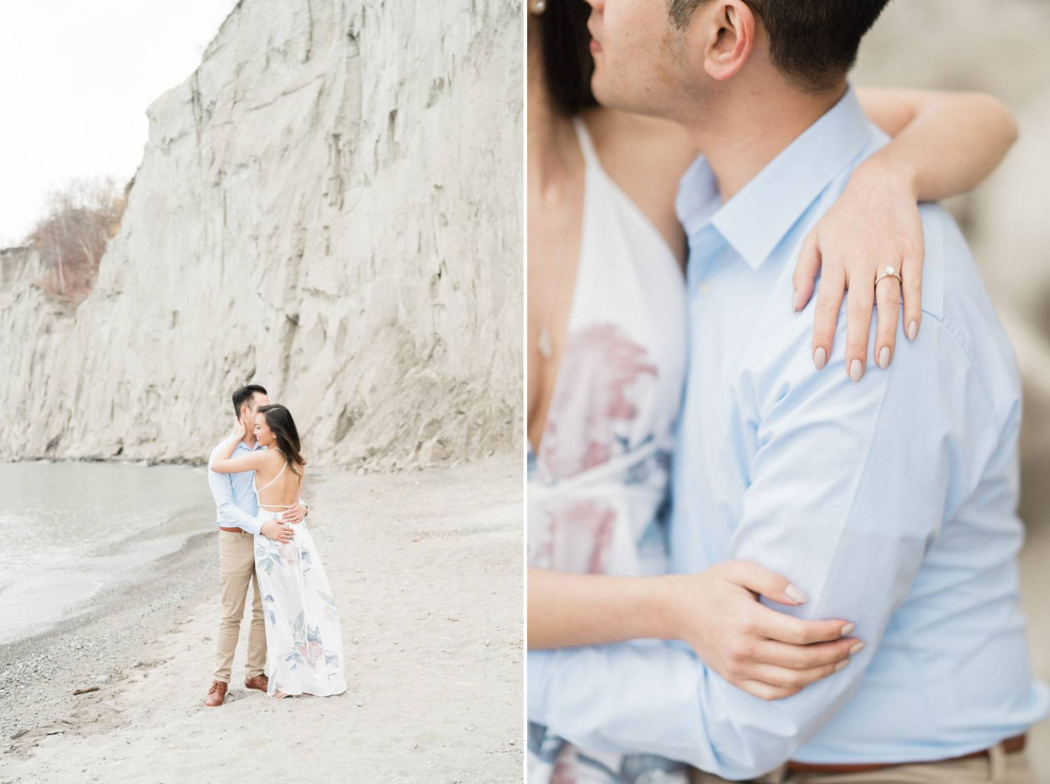 Scarborough_Bluffs_Engagement_Beach_Spring_Toronto_Engagement_Photos