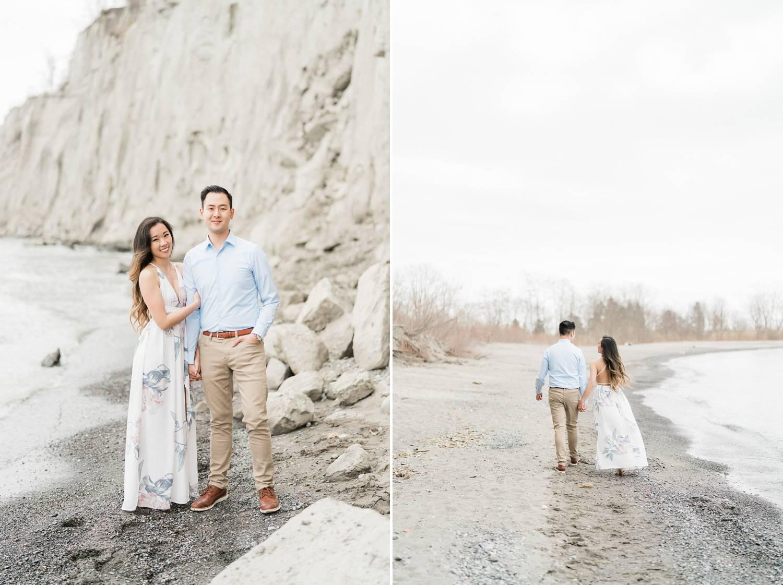 Scarborough_Bluffs_Engagement_Beach_Spring_Toronto_Engagement_Photos