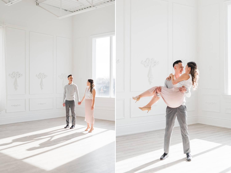 Mint Room Toronto Studio Engagement